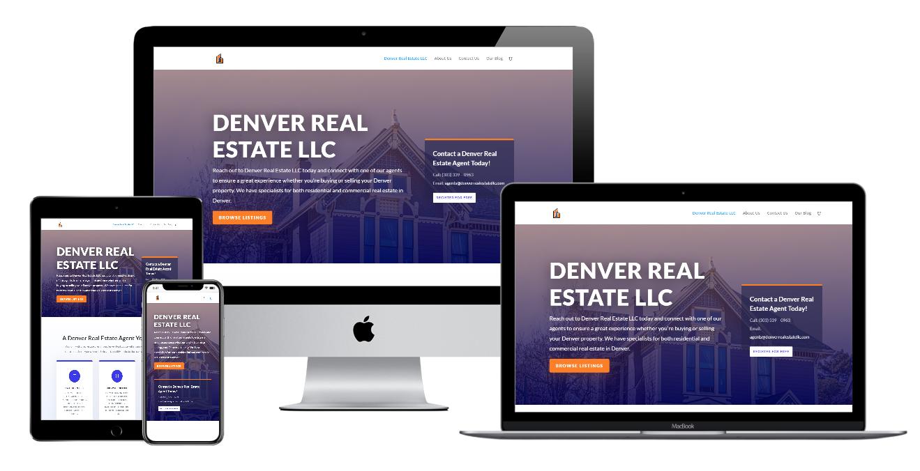 John Piccone Denver Real Estate LLC Website Design